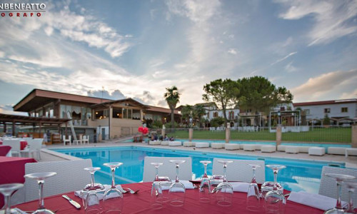 San Pietro Country House Piscina Cena 1