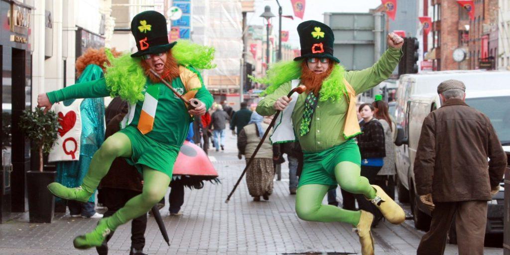 San Patrick Day in Irlanda